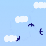 ツバメの飛行